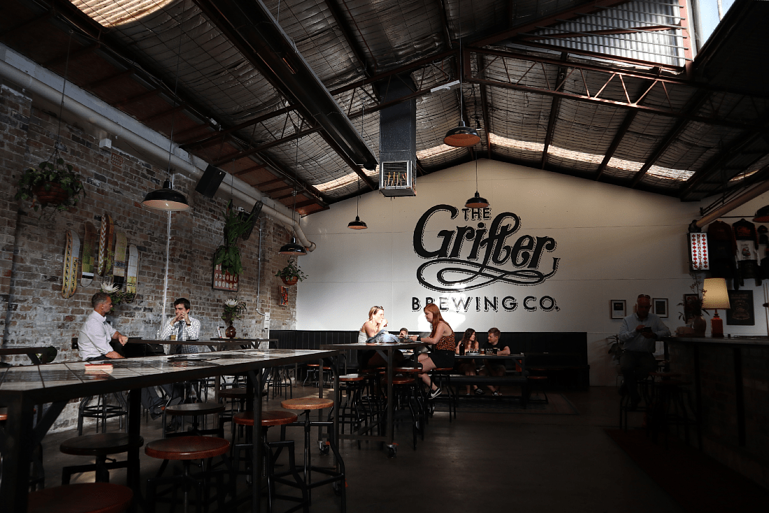 The Grifter Brewing Co in Sydney