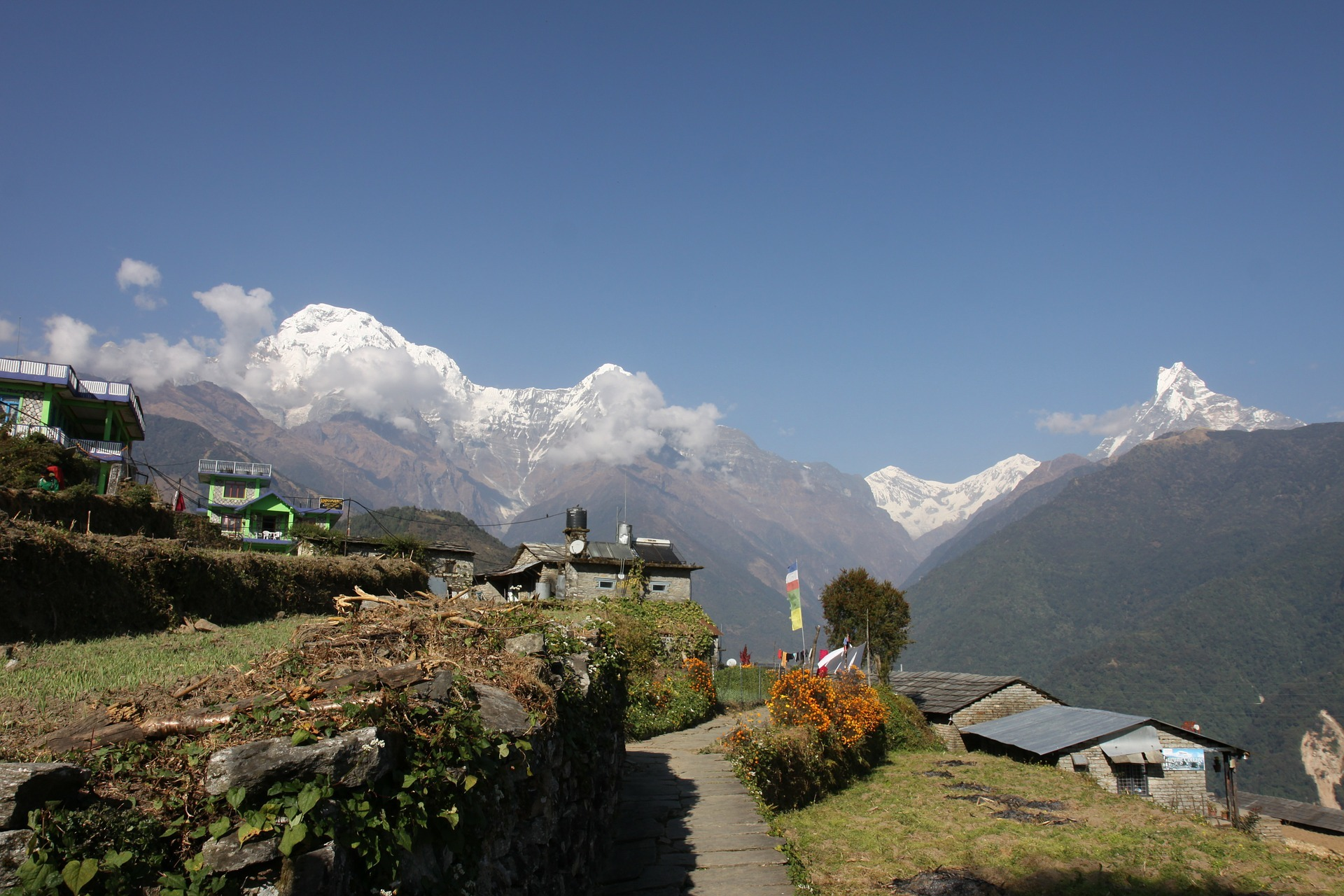 Hiking the Annapurna Circuit in Nepal - on my Travel Wishlist for 2020