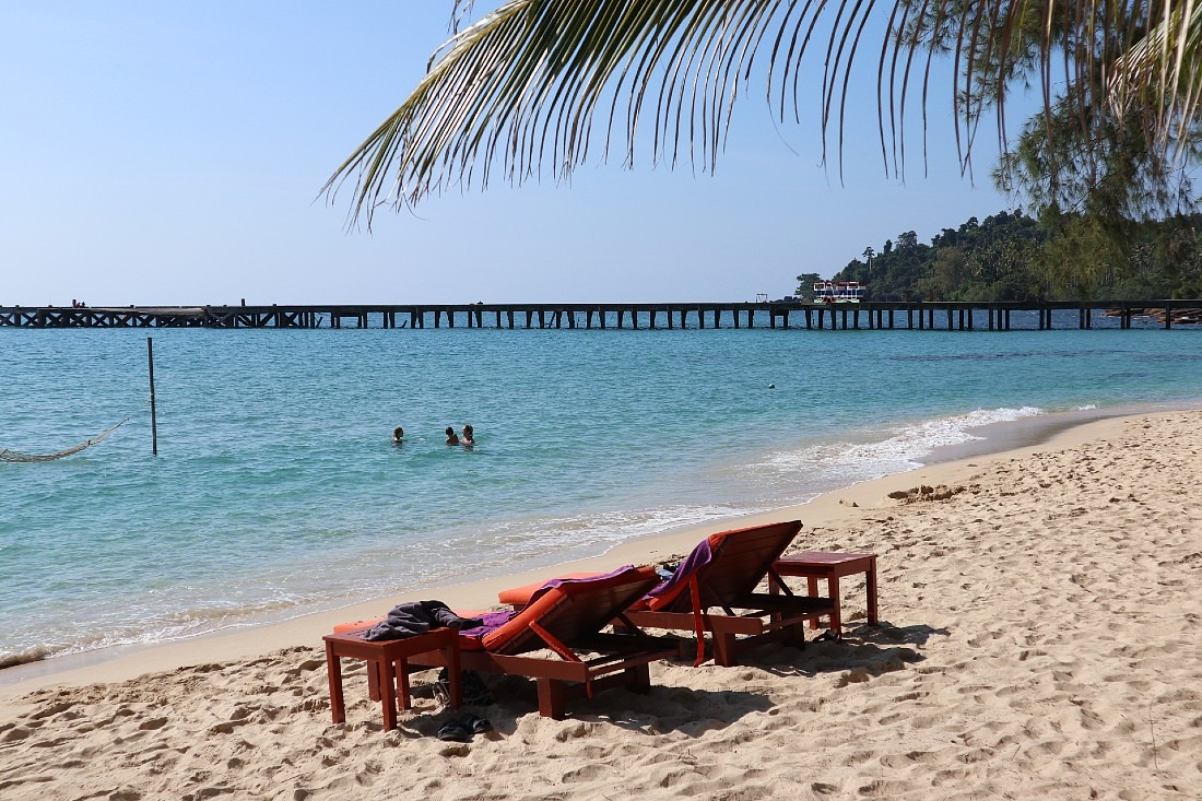 Bang Bao beach on Koh Kood