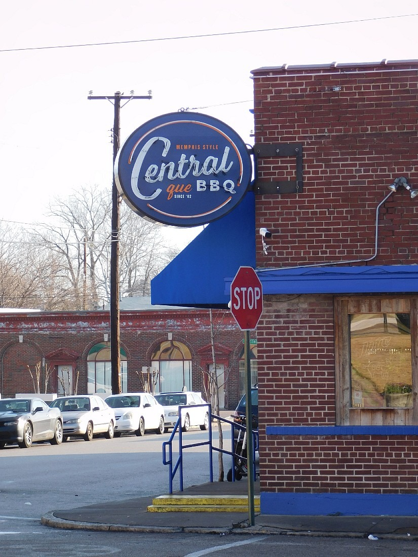 One of the best things to do in Memphis is to try Memphis BBQ at Central BBQ