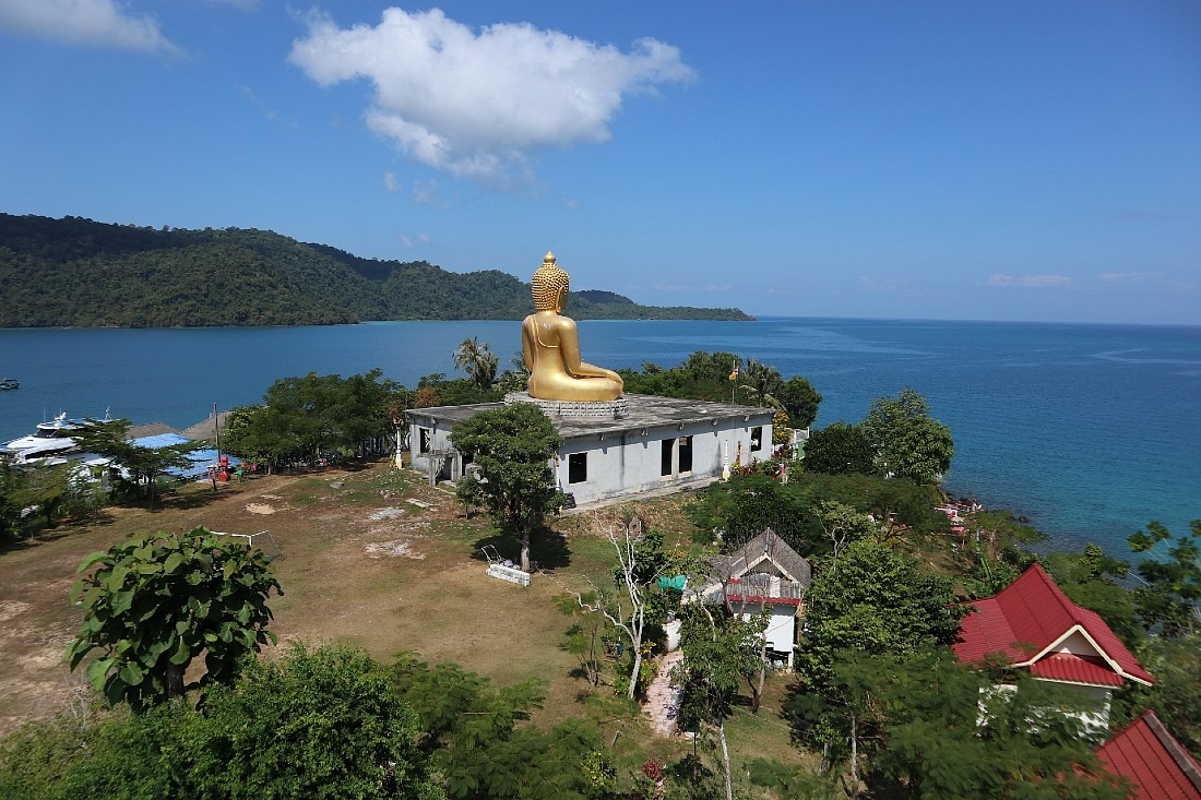 Giant Buddha on Koh Kood
