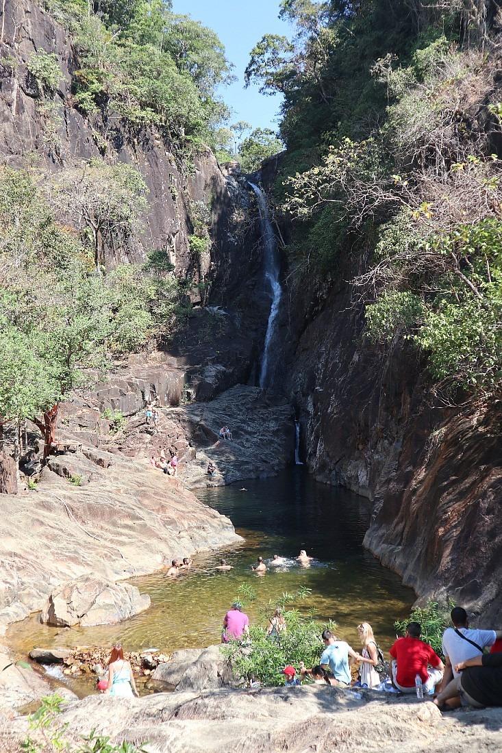 Klong Plu Waterfall on Koh Chang