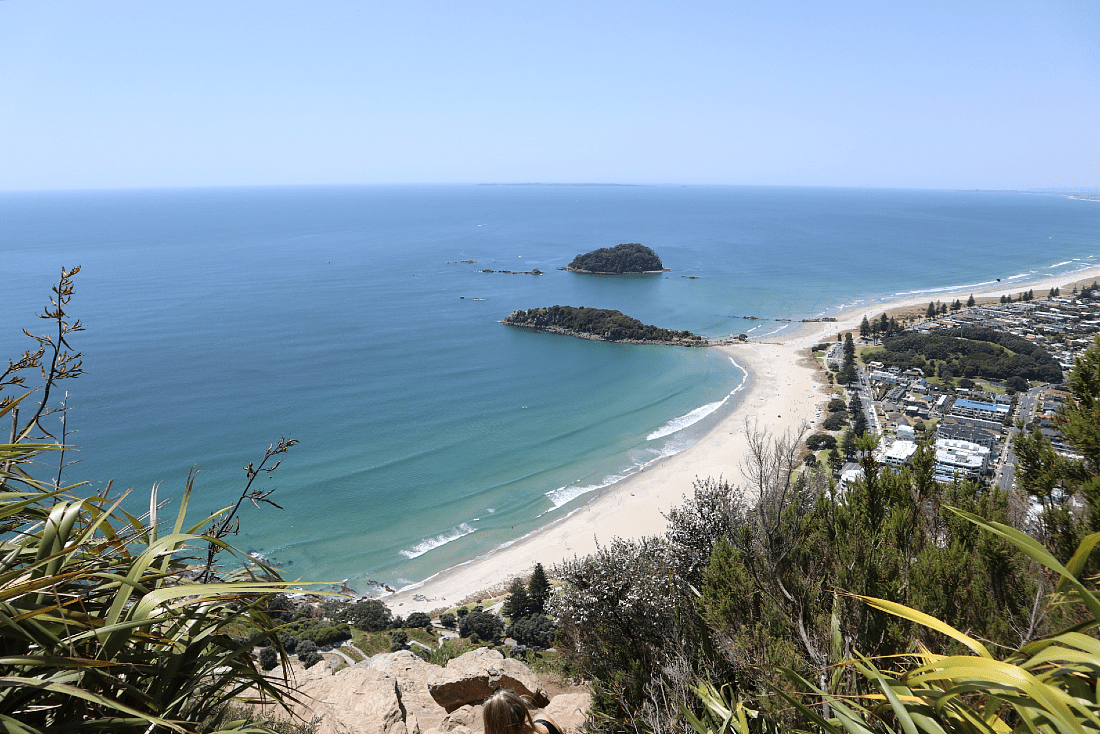 View from the top of Mount Maunganui