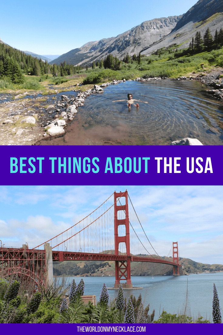 Best Things About the USA | The World on my Necklace