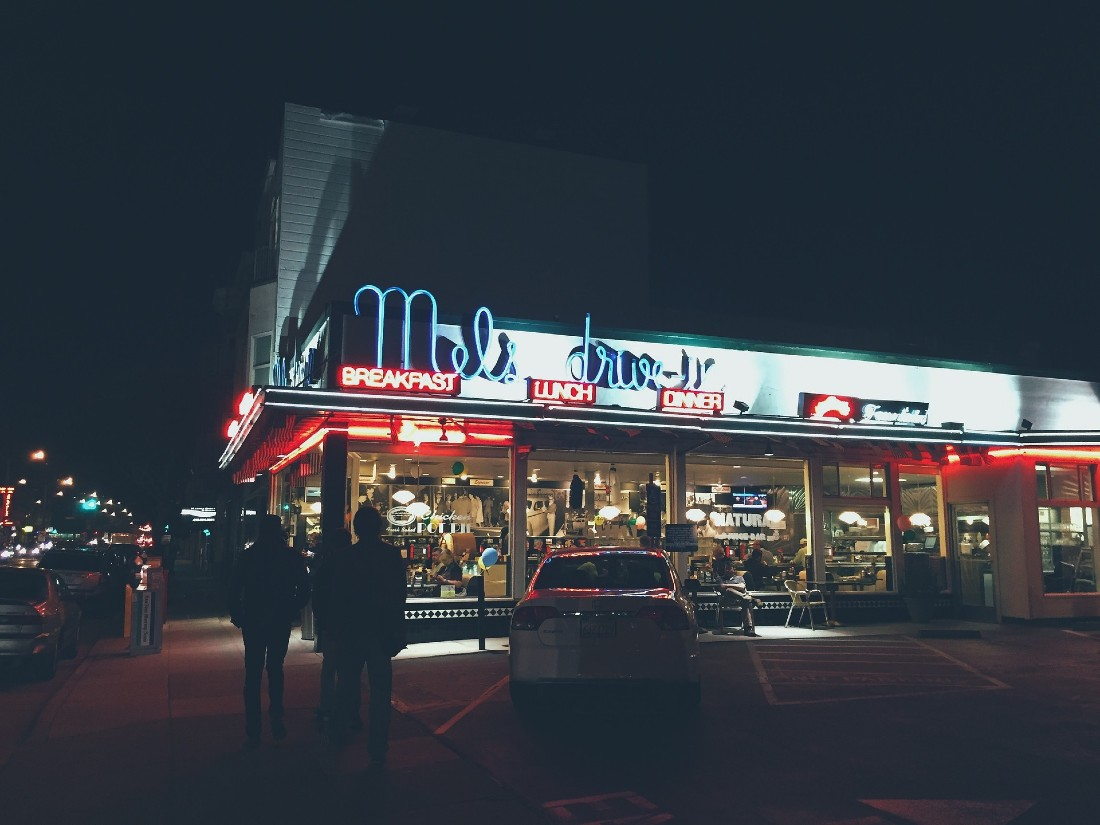 Diners are one of the best things about the US