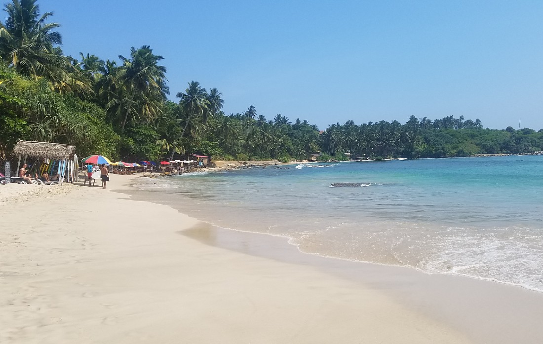 Hiriketiya Beach in Sri Lanka
