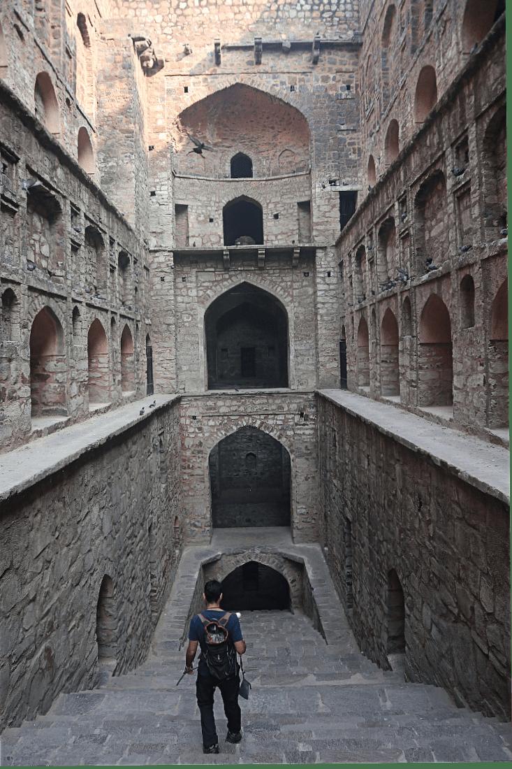Stepwell in Delhi