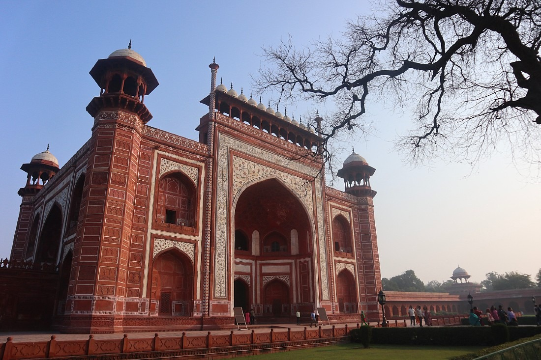 Building in Agra Fort