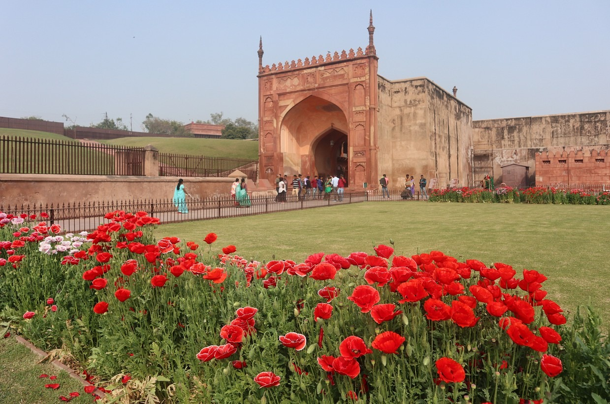 Beautiful Agra Fort