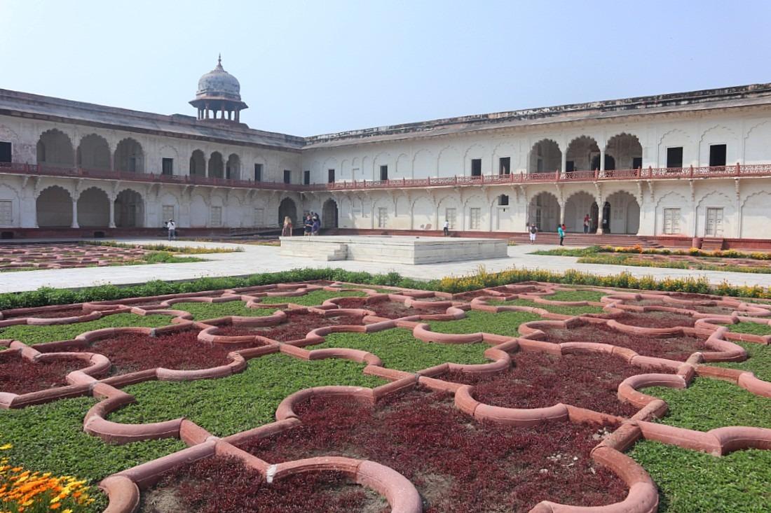 Agra Fort Garden