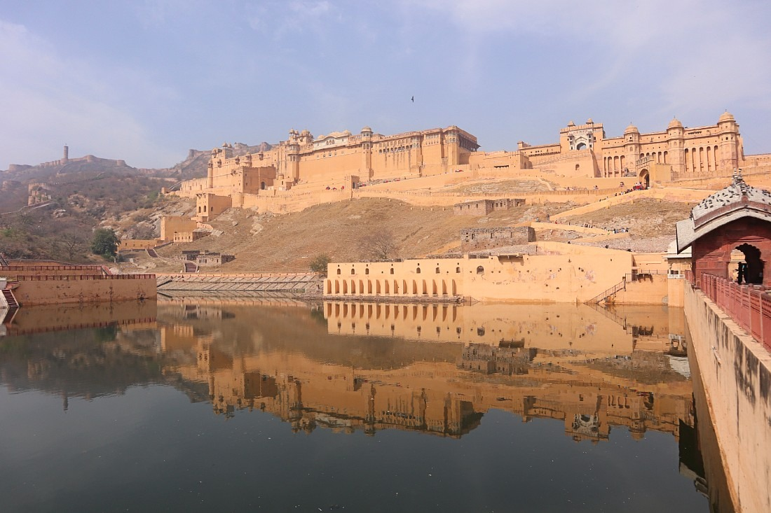 Amer Fort - one of the most famous forts of Rajasthan
