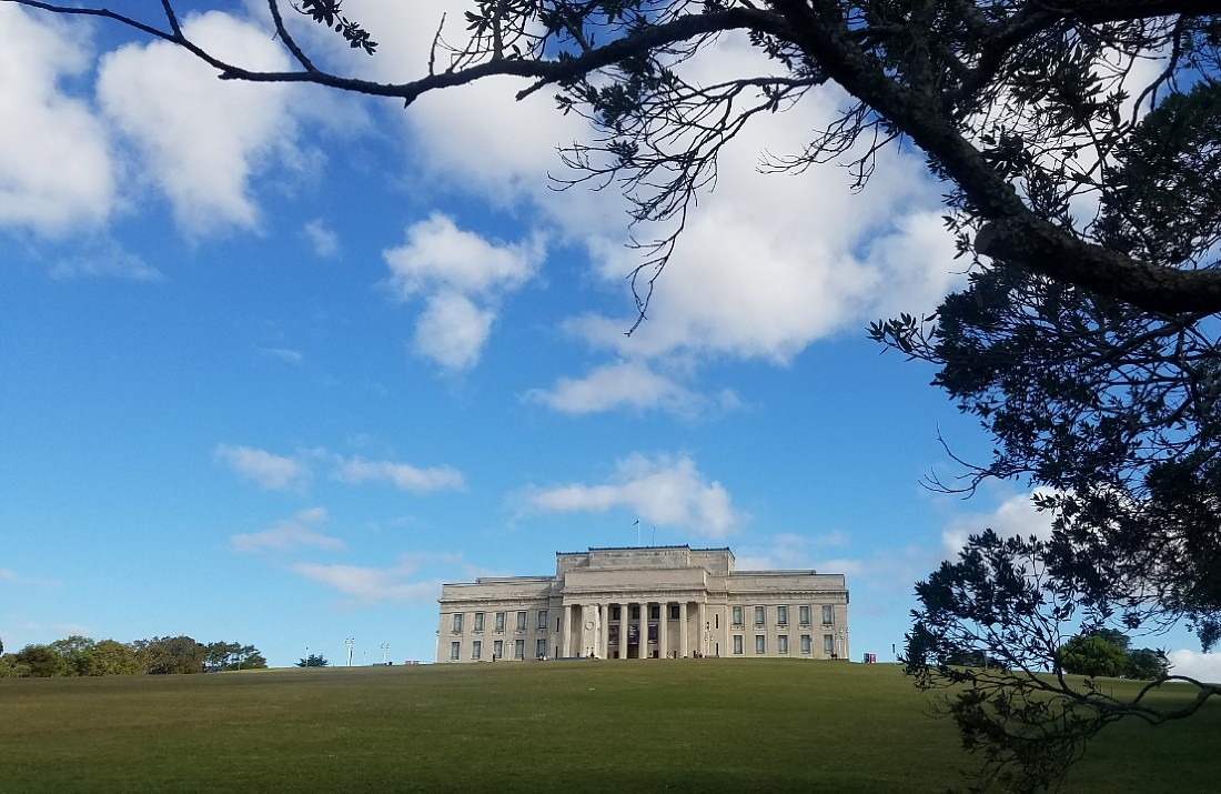 Auckland Museum in the Domain