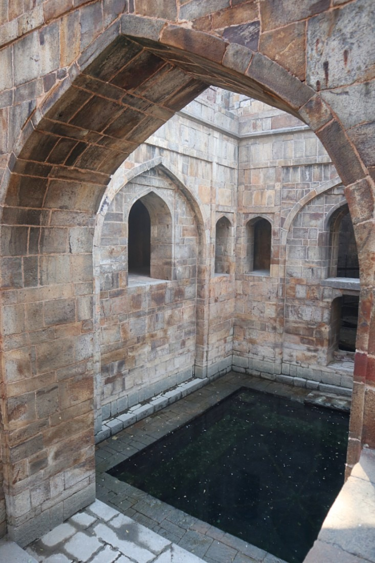 Baoli at Red Fort in Delhi