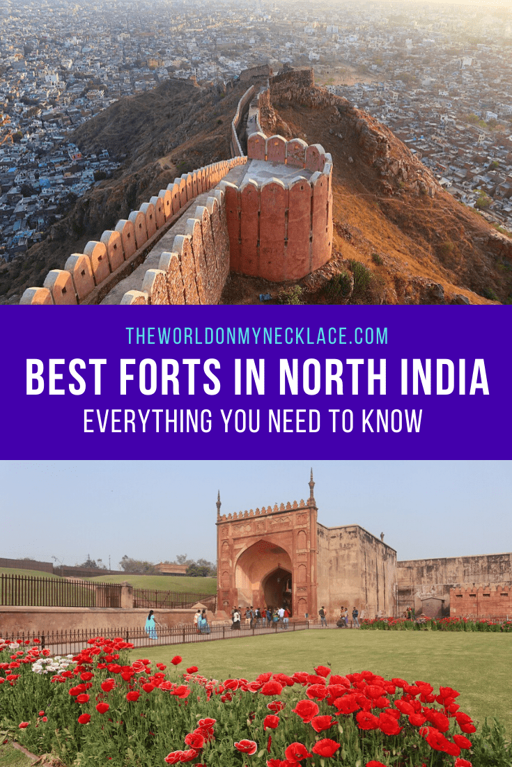 Best Forts of Rajasthan and the Golden Triangle of India. | The World on my Necklace