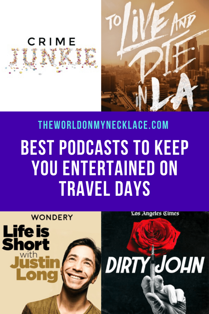 Best Podcasts to Keep you Entertained on Travel Days