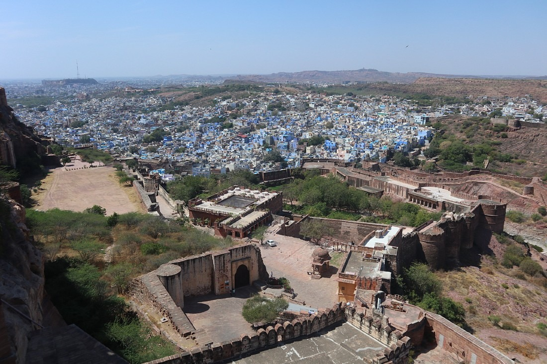 View from Mehrangarh - a highlight of our Rajasthan travels