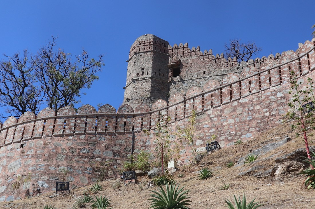 Kumbhalgarh is one of the forts that Rajasthan is famous for