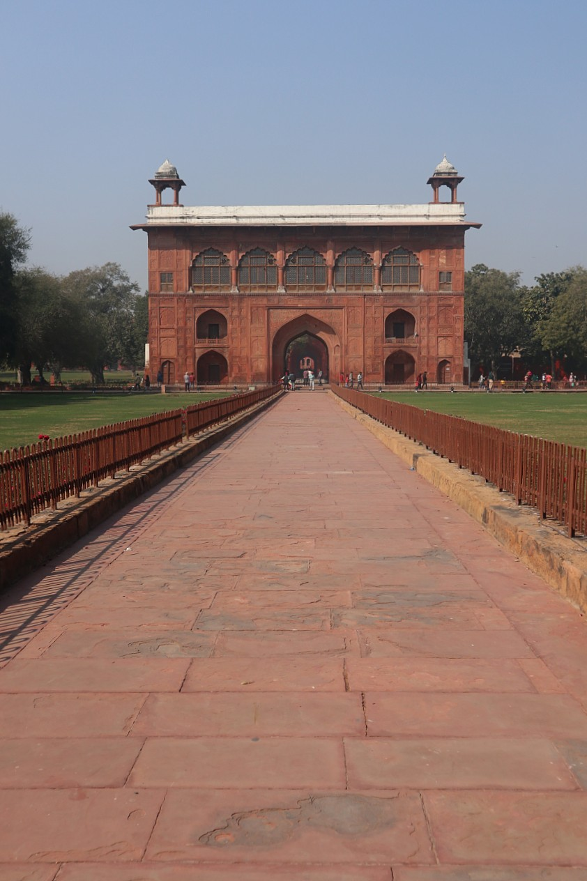 Building in the Red Fort in Delhi
