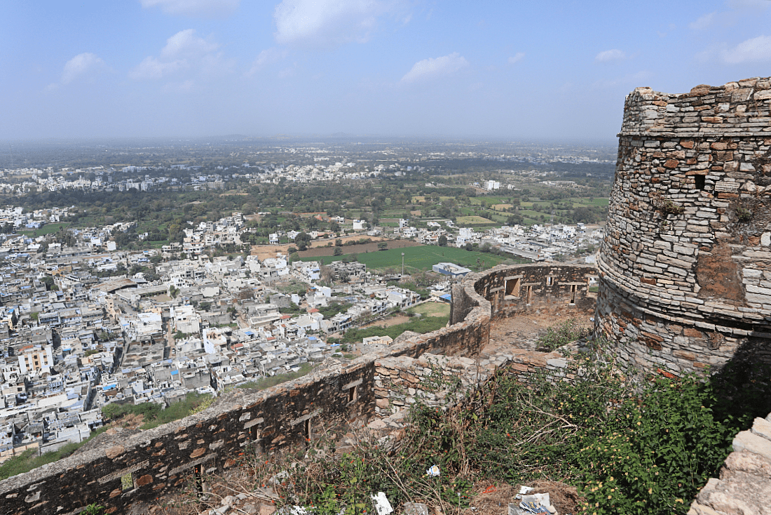 Chittorgarh Fort - one of the most famous hill forts of Rajasthan