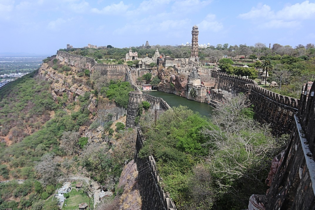 Chittorgarh Fort - the biggest fort in Rajasthan