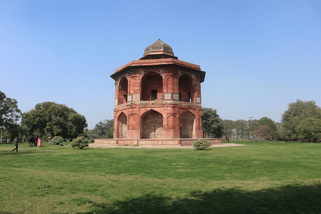 Humayun's Library in Purana Qila