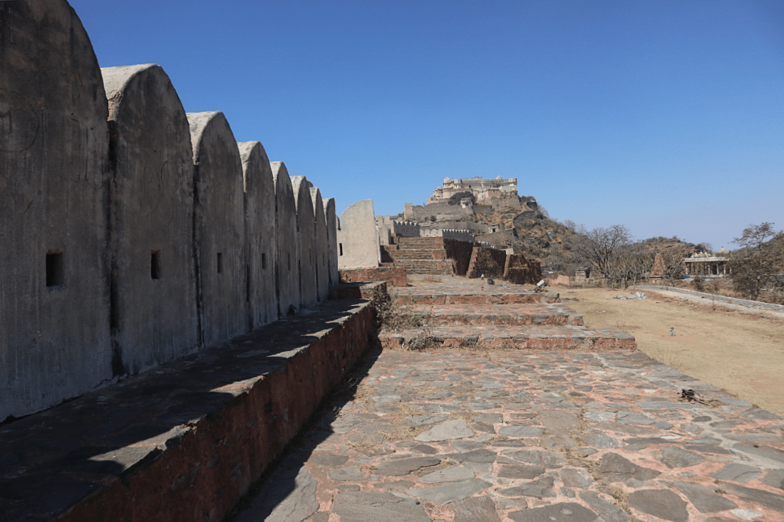 Kumbhalgarh is the second biggest fort in Rajasthan