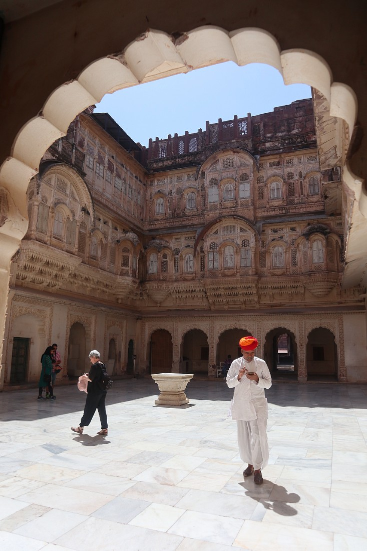 Mehrangarh is one of the best historical monuments of Rajasthan