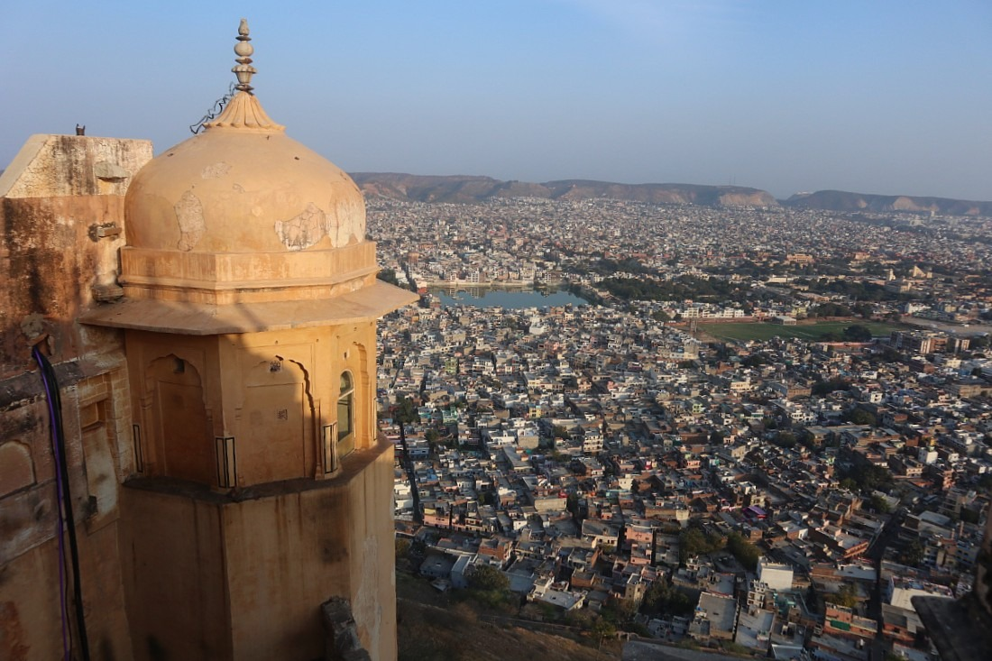 Views from Naigarh Fort in Jaipur