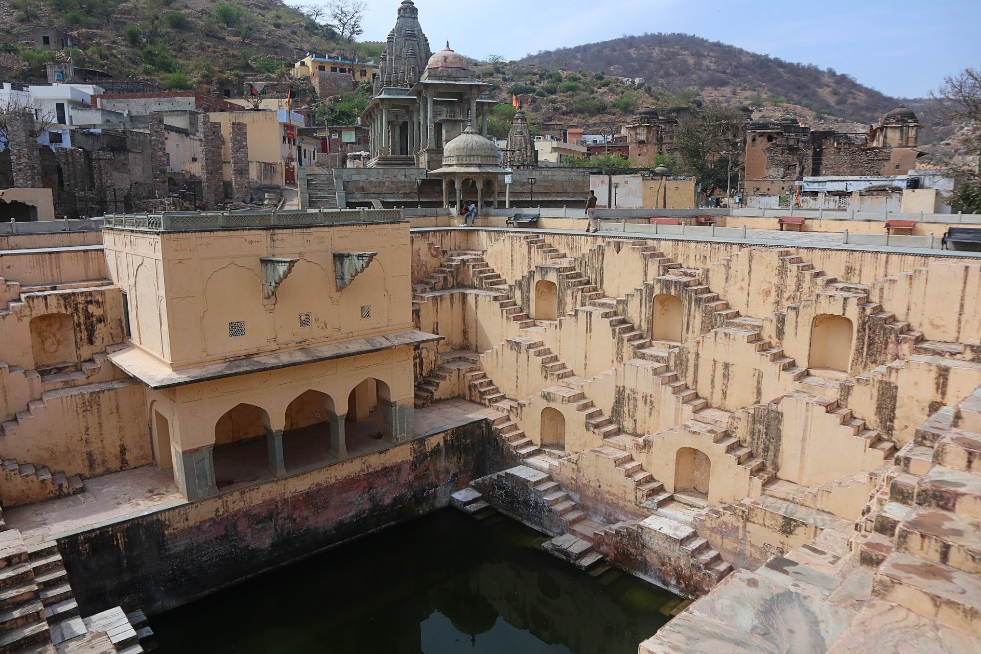 Baoli near Amer Fort in Rajasthan