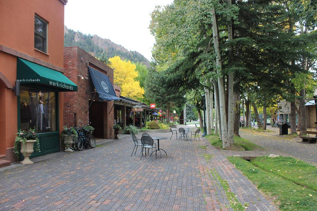 Aspen is a must visit on a Colorado Road Trip