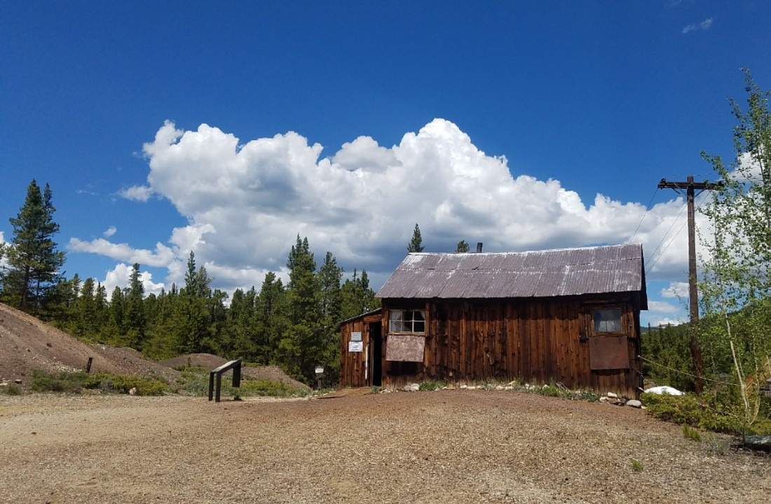 Baby Doe's Cabin at the Matchless Mine in Leadville