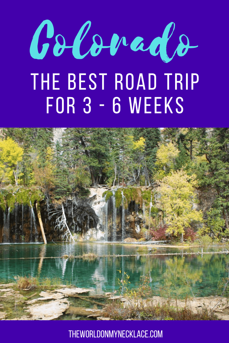 The Best Colorado road trip itinerary to see the best of the state | The World on my Necklace