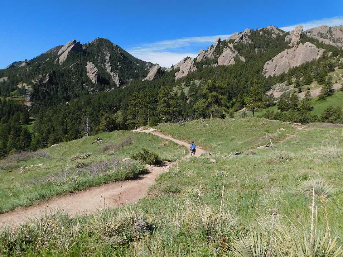 Go hiking in Boulder on a Colorado Road Trip