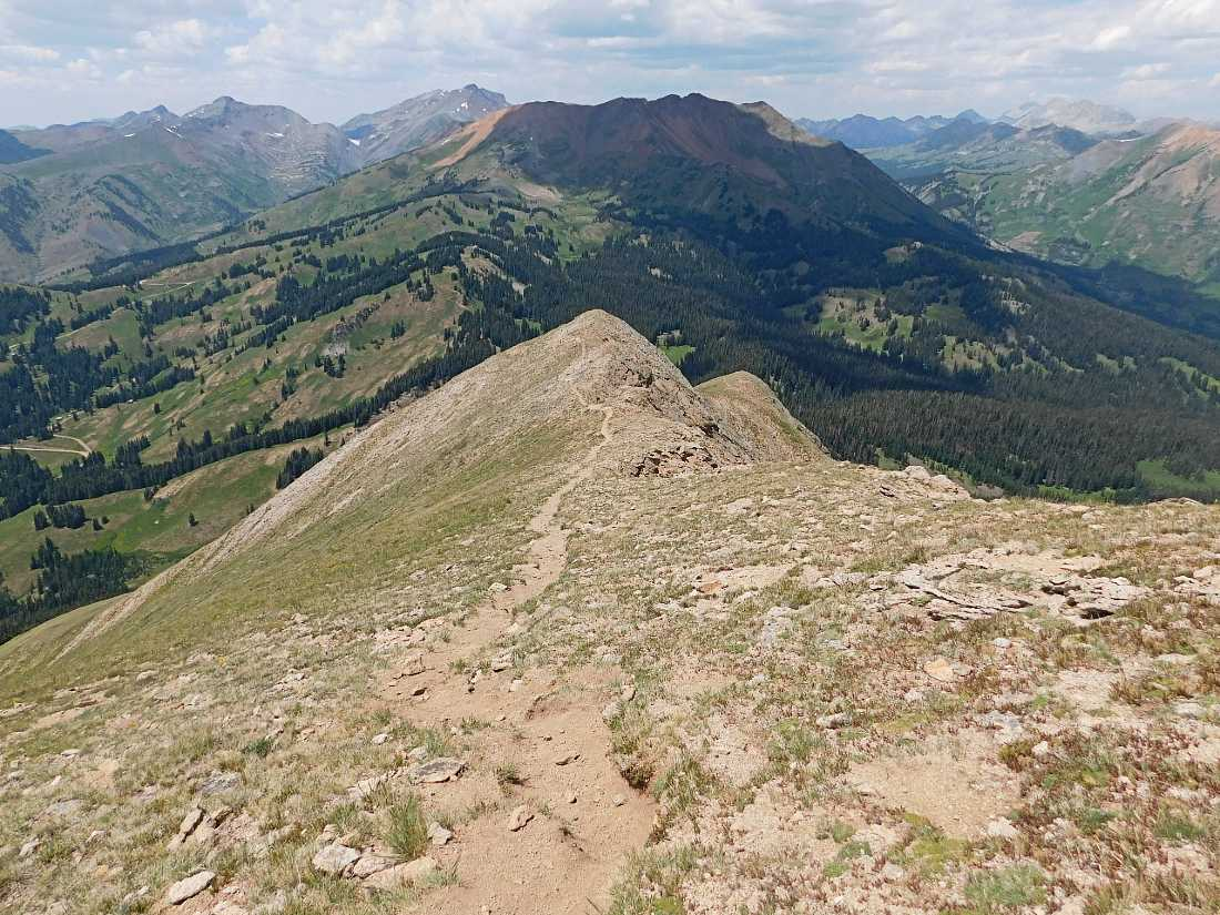 Hike in Crested Butte on a Colorado Road Trip