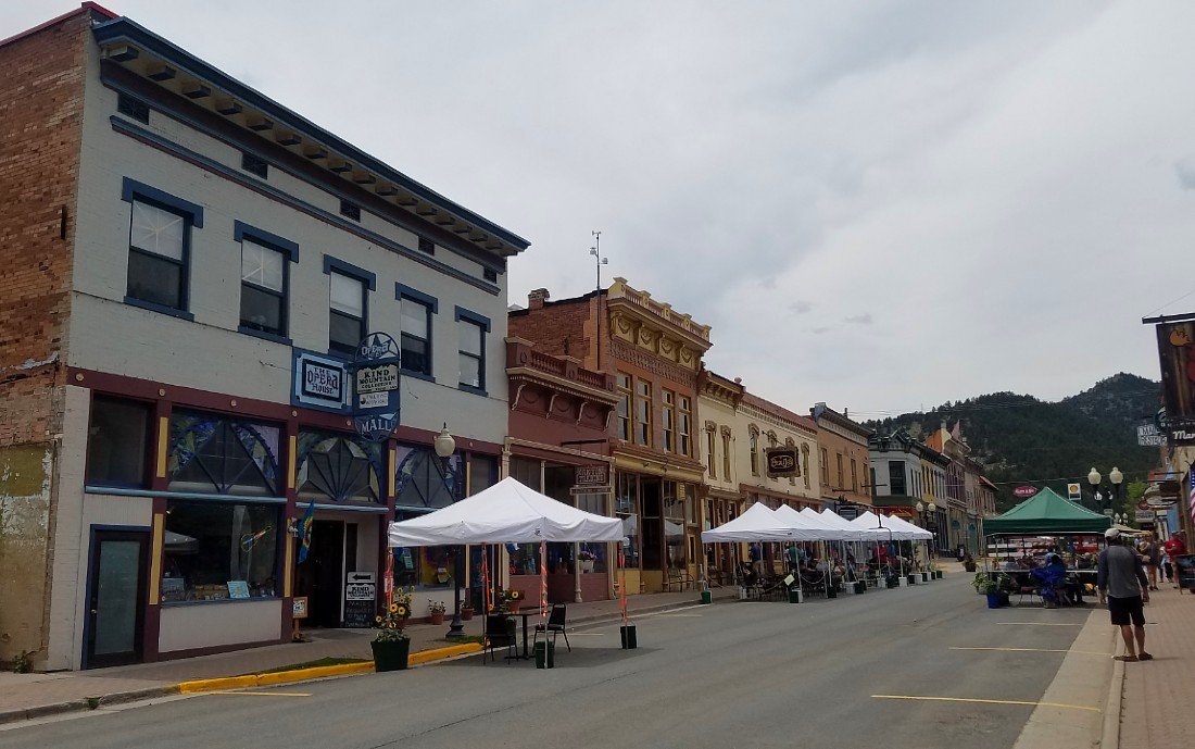 Downtown Idaho Springs in Colorado