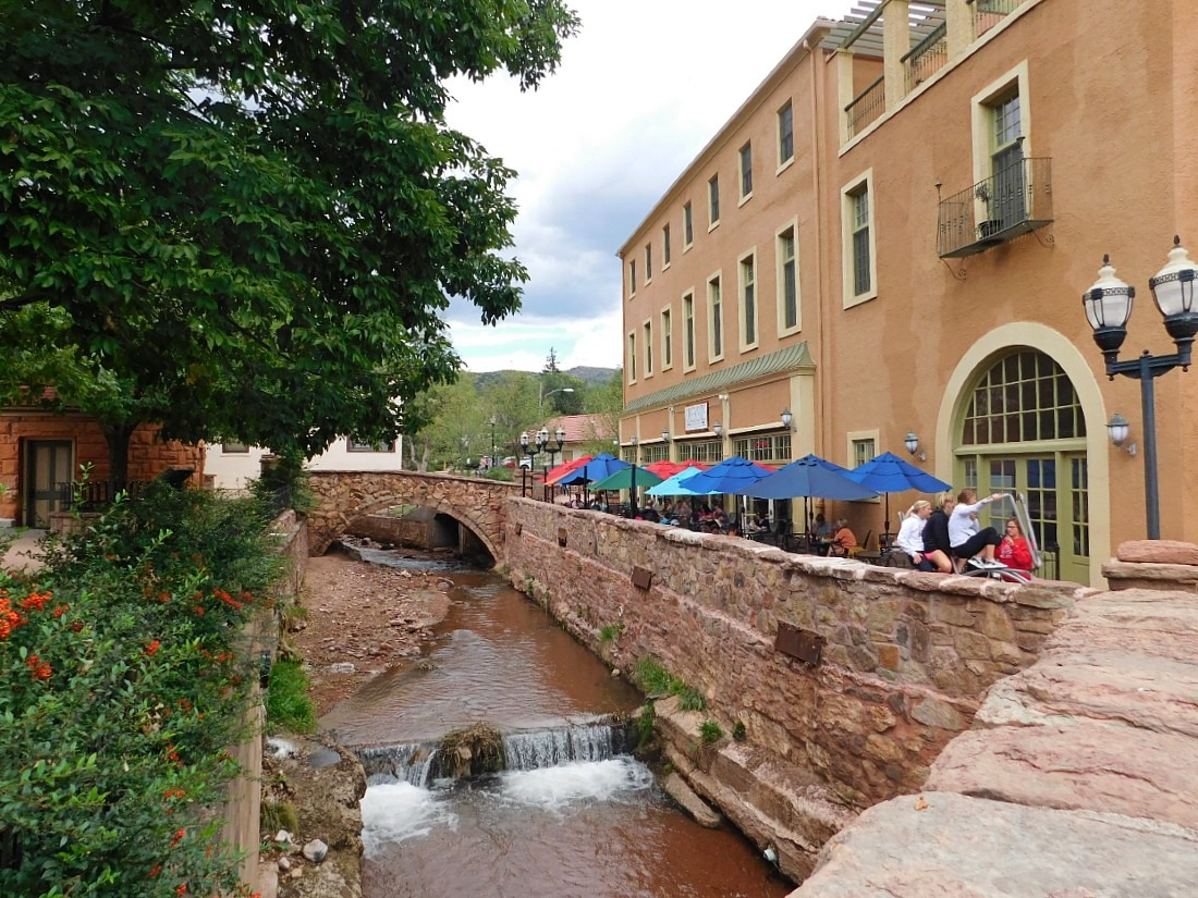 Manitou Springs in Colorado