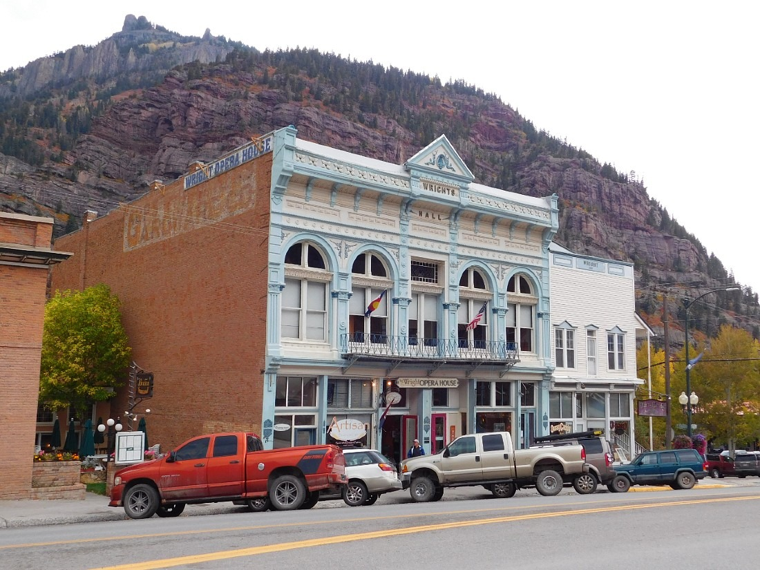 Downtown Ouray in Colorado