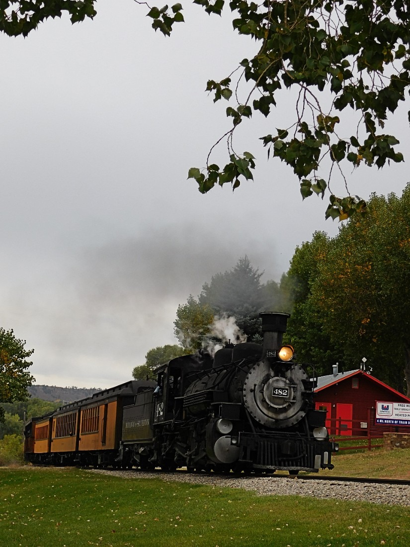 Riding the Durango Silverton Railroad