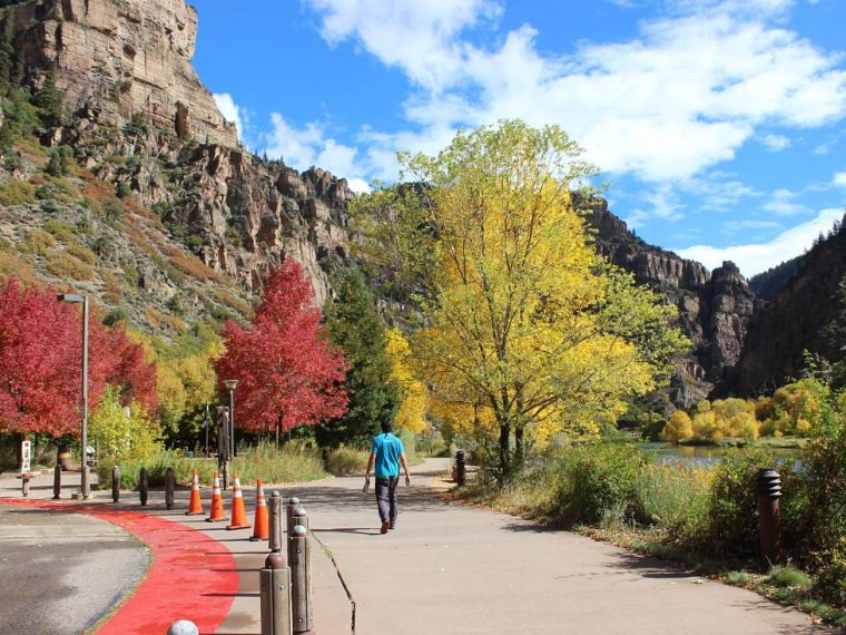 Visit Glenwood Canyon on a Colorado Road Trip
