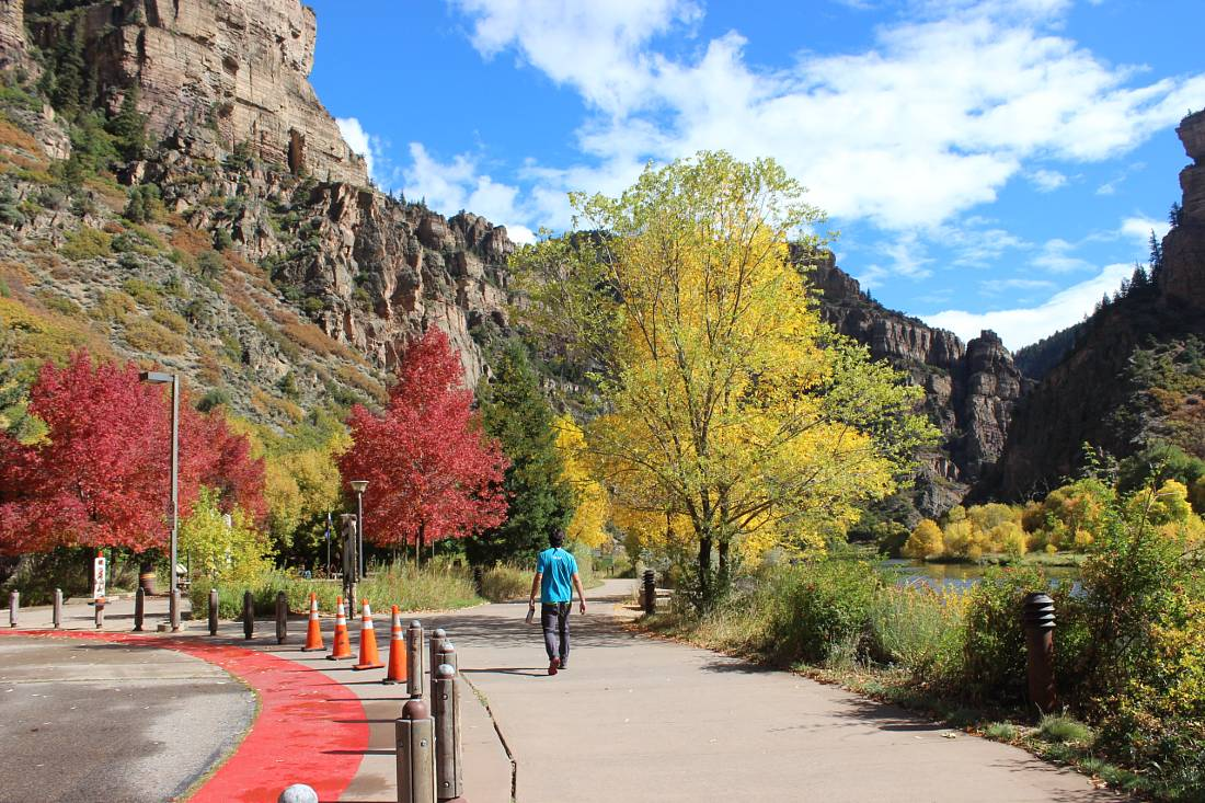 Visit Glenwood Canyon on a Colorado Road Trip