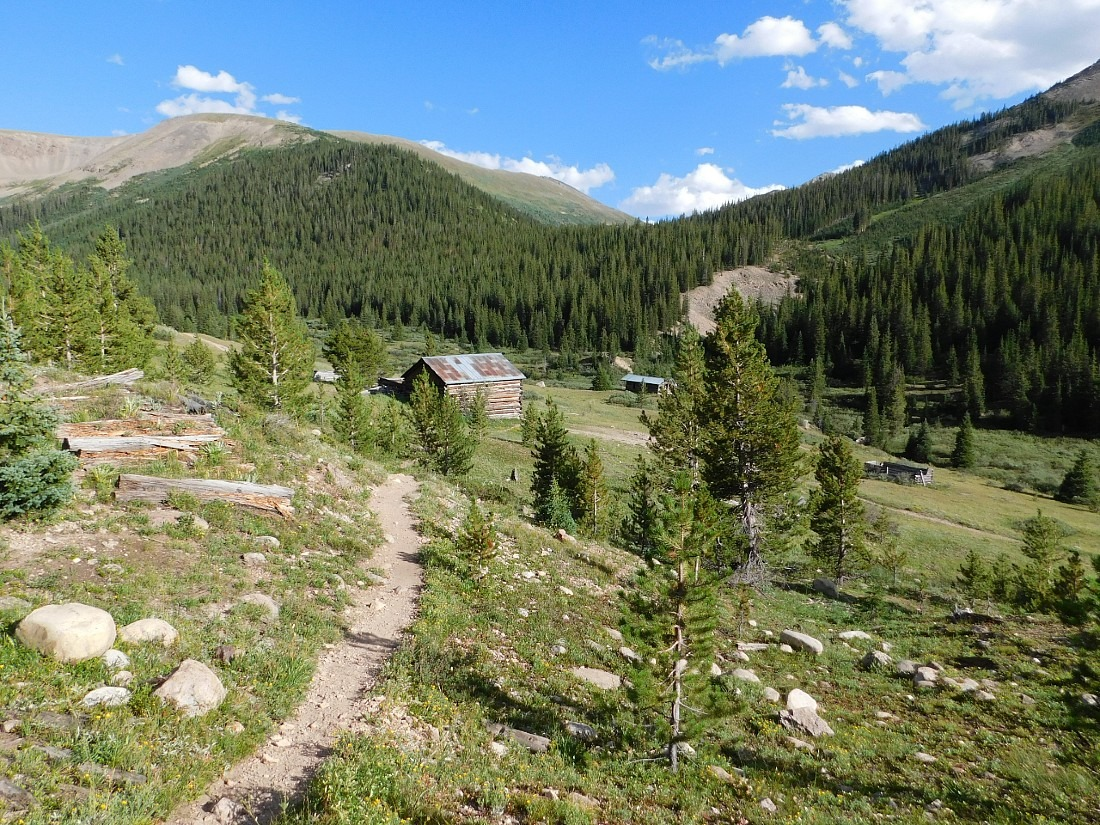 Explore Independence Ghost town on a Colorado road trip