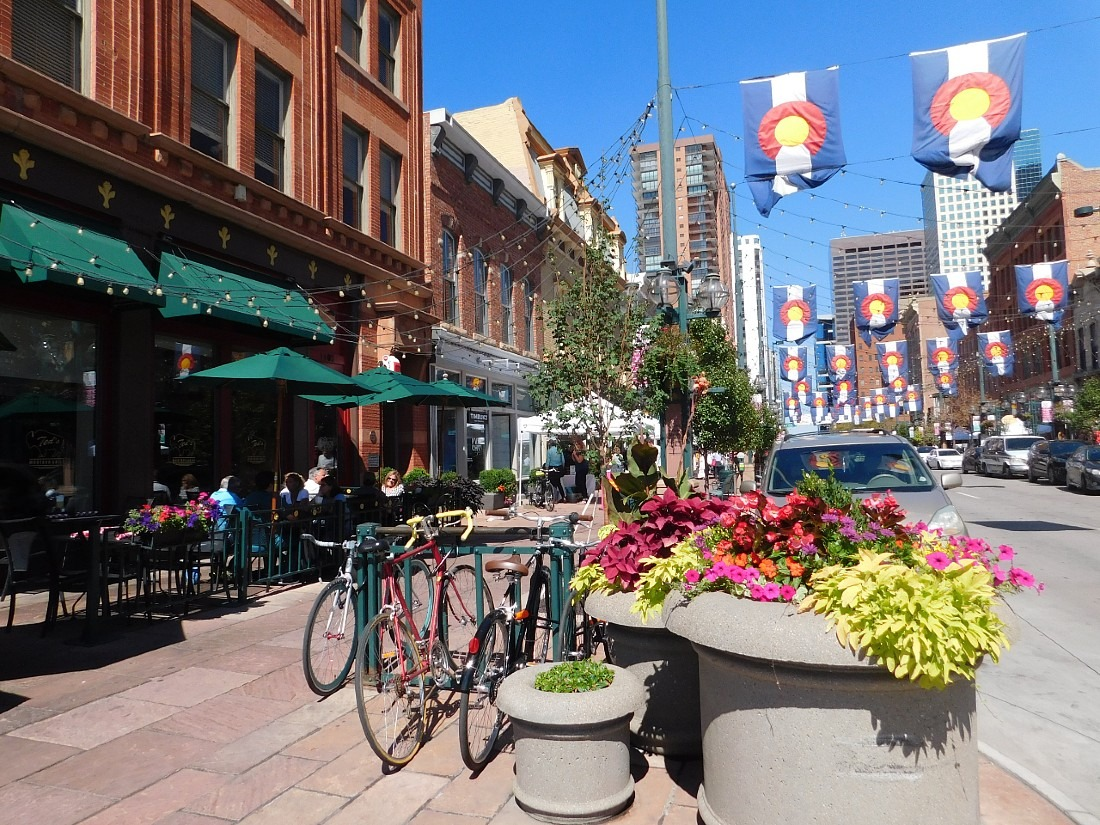 Visit lovely Larimer Square as part of your Denver itinerary