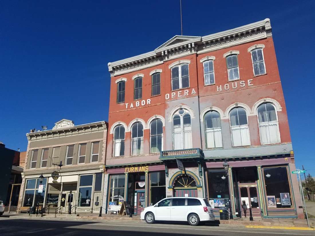 Downtown Leadville in Colorado
