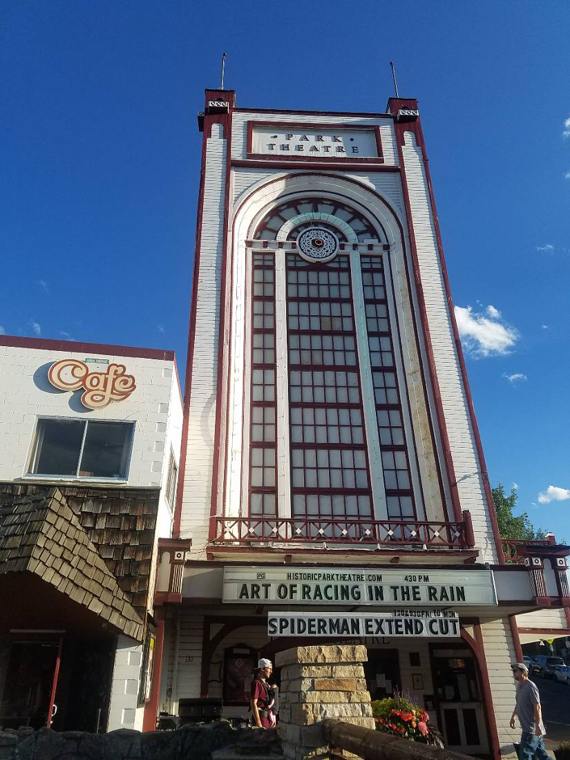 Historic Park Theatre in Estes Park, Colorado