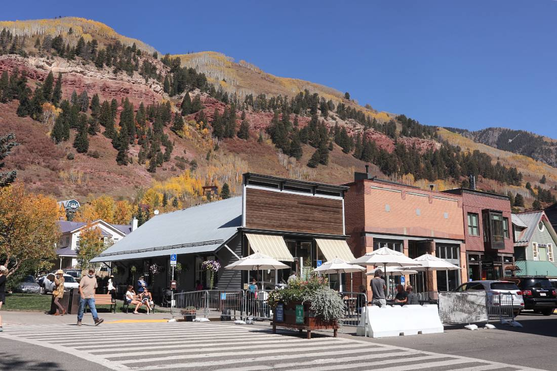 Downtown Telluride in Colorado