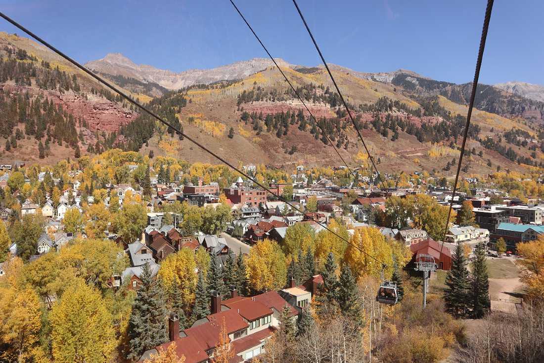 Tellurde in fall Colorado Road Trip
