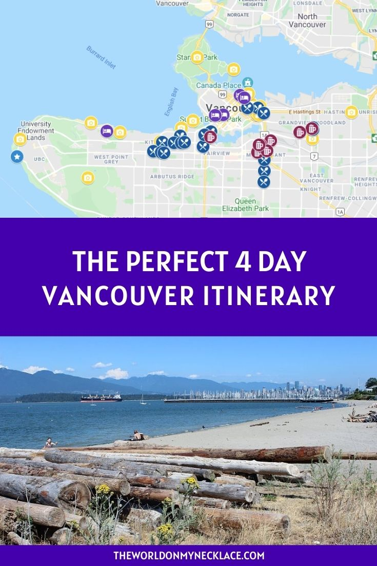 The Perfect Vancouver Itinerary 4 Days