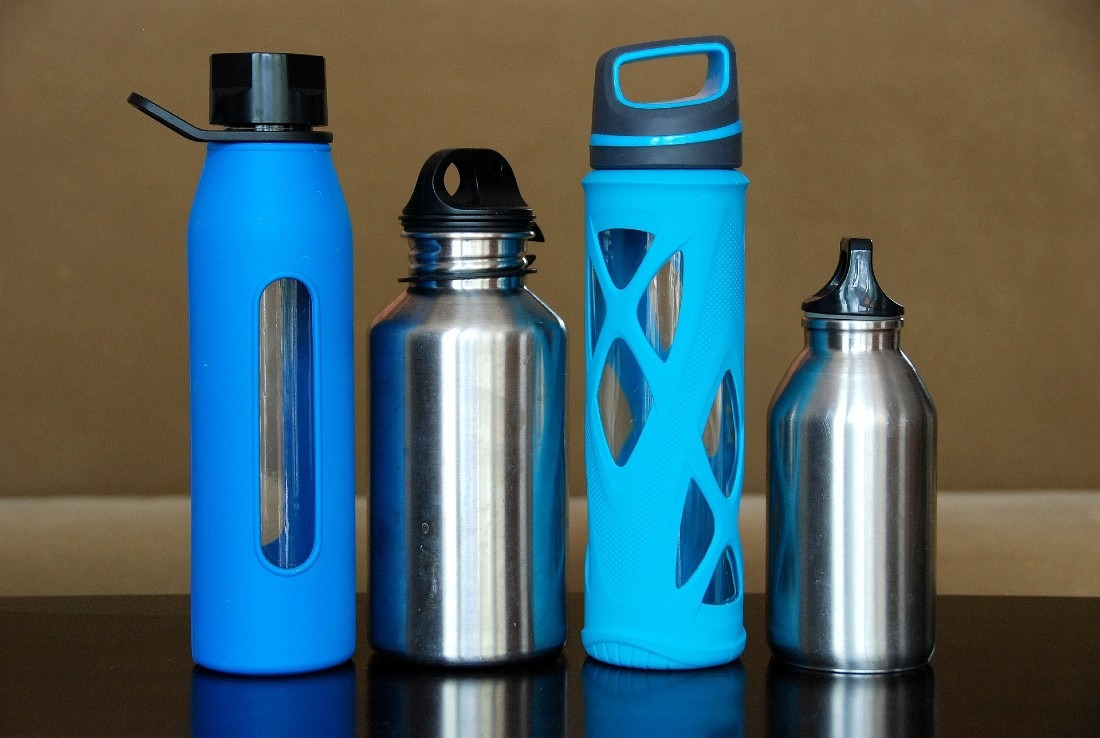 Pack a water bottle on your solo travels