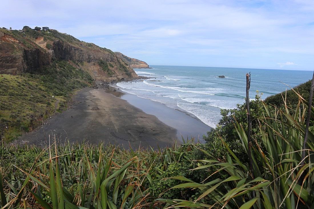 Muriwai Beach in West Auckland