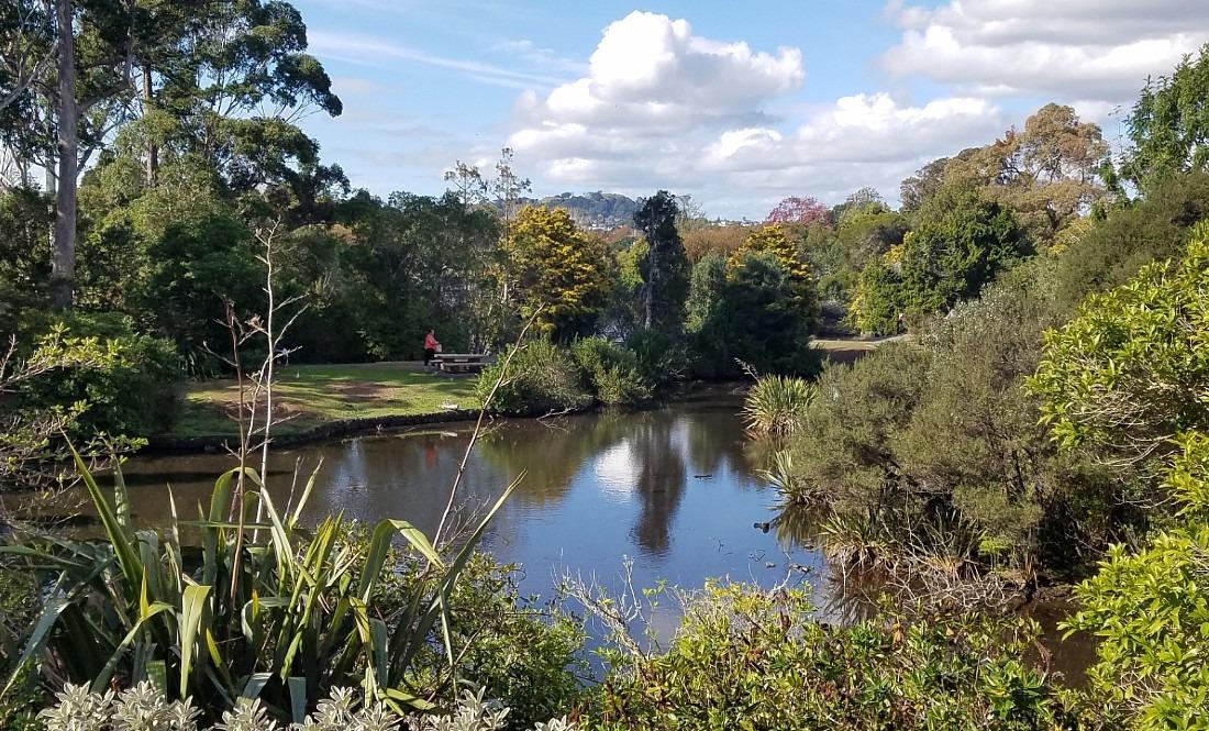 Western Springs Park in Auckland